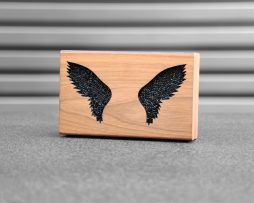 wings strass black shooting