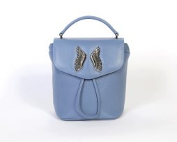 backpack scotch blue face