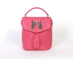 backpack scotch pink face