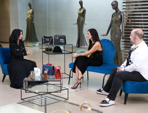 Interview Aljadeed TV with Designer